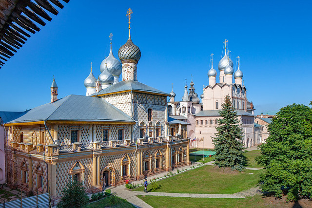 Kremlin in Great Rostov (Russia)