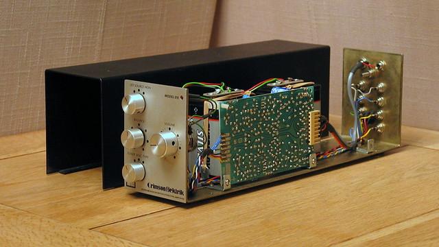 Crimson Elektrik Pre-Amplifier - Model 510 (Inside View)