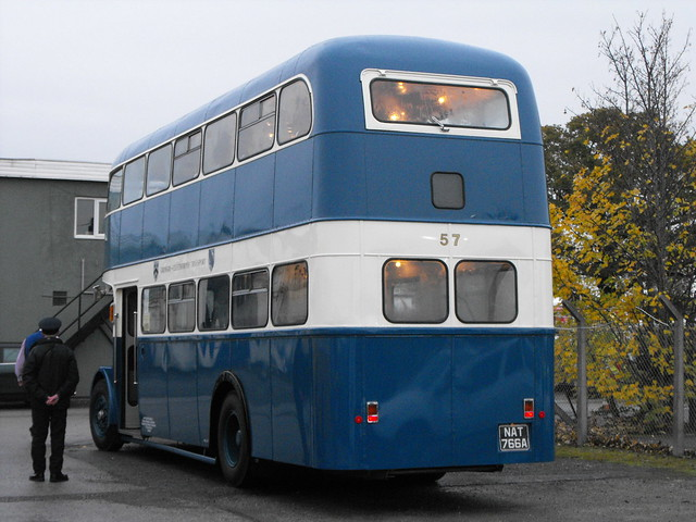 57, TJV 100 (NAT 766A), Daimler CVG6 @ Lincoln, Nov. 2018 (14)