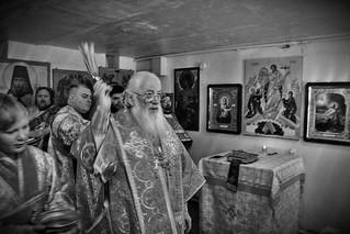 09.02.2019 | Освящение молитвенной комнаты в воинской части № 45813 деревни Ижицы