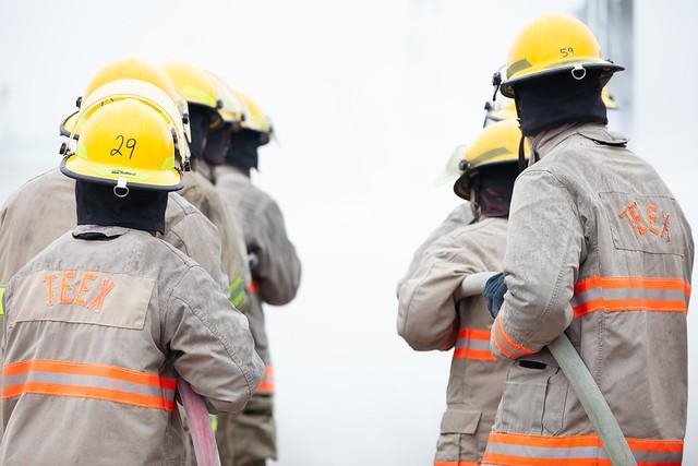 NROTC Fire Training