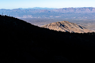 1902 Cliffs above Edgar Canyon and the San Pedro River Valley   by c.miles
