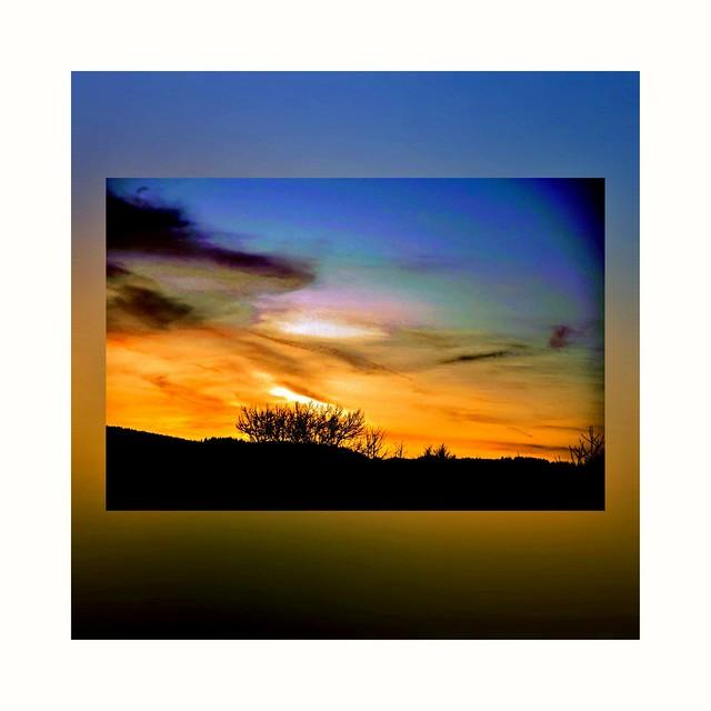 Evening sky 🌇
