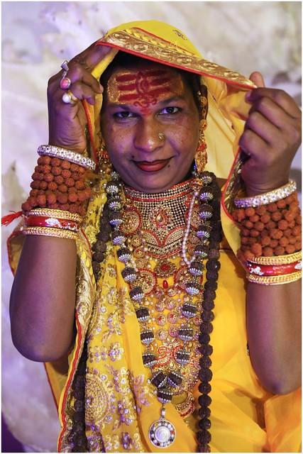India Travel Photography: Kinnar Akhara (transgender Saints) at Kumbh Mela Festival 2019 Allahabad.065 by Hans Hendriksen