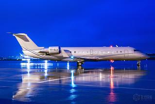 T7-SLA Private Bombardier CRJ-200, Maastricht Aachen Airport - EHBK/MST | by neplev1
