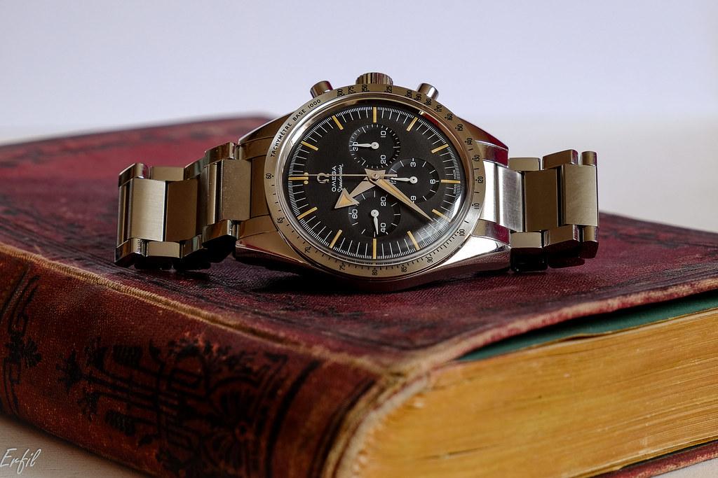 Vends - [Vendue] OMEGA Speedmaster Broad Arrow 57 Trilogy 60th anniversary 46691717574_dce2fd4350_b