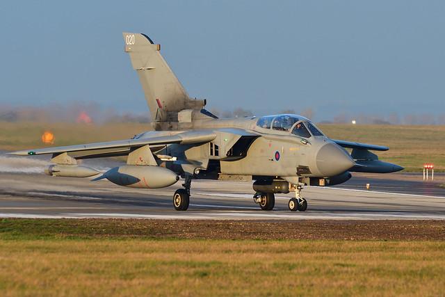 Tornado GR4 'Monster 4' I ZA449/20 I 31 Sqn RAF Marham