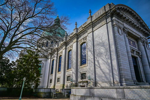 Naval Academy Chapel at US Naval Academy - Annapolis MD | by mbell1975