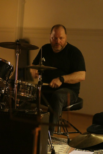 Gordon Rytmeister, drums   by andrew lorien