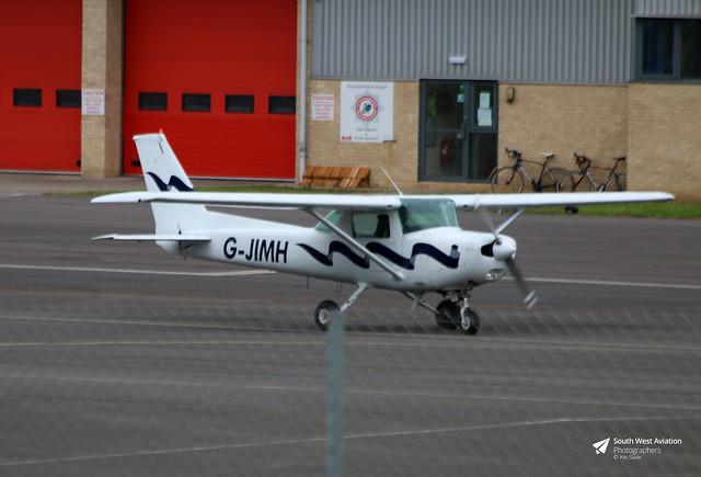 G-JIMH Reims Cessna F152, Gloucestershire Airport, Staverton, Gloucestershire