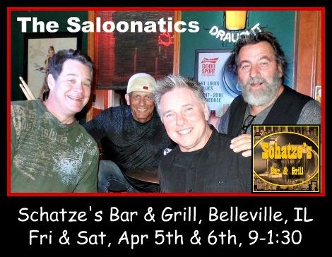 The Saloonatics 4-5, 4-6-19