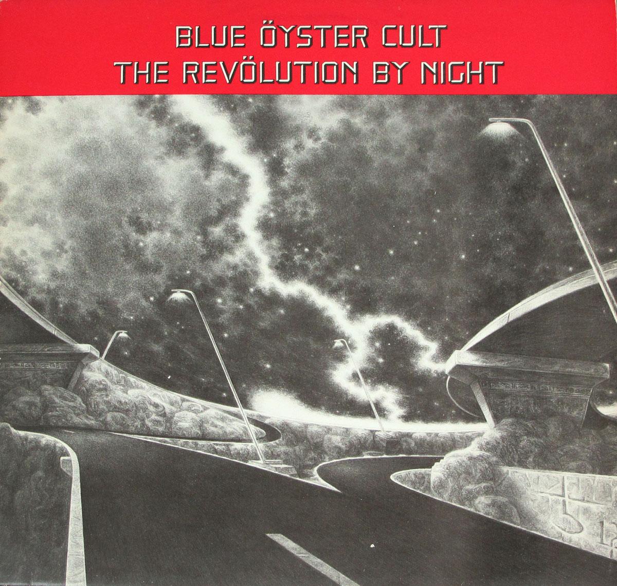 """BLUE ÖYSTER CULT THE REVOLUTION BY NIGHT 12"""" VINYL LP"""