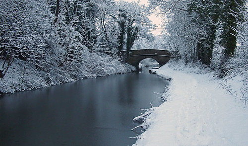 wednesdaywalk walking walk hiking hike cheshire macclesfield canal bridge water ice snow white towpath bollington snowscene frost winter peakdistrict olympusepm1 landscape snowscape trees frosty arch waterway trail cheshirecruisingring frozen freezing gerryhattrick