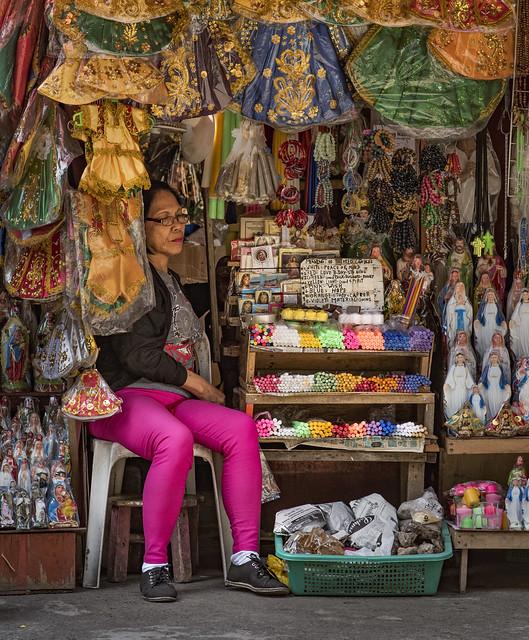 Catholic Street  Vendor