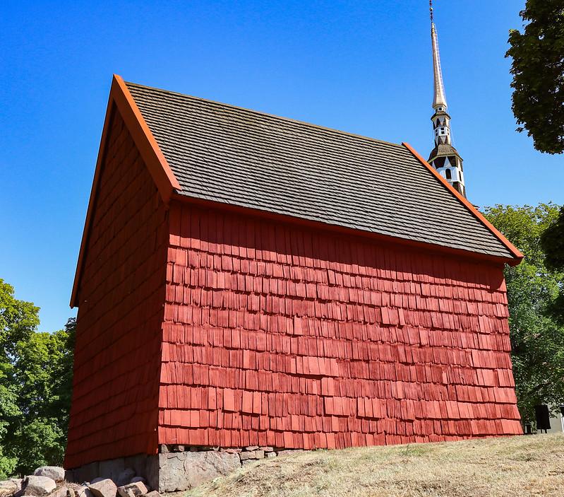 Medieval Tithe Barn, Ingatorp, Sweden