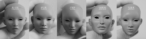 Inamorata 3.0 Heads | by em`lia