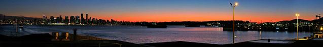 Feb. 9 Sunset Panorama