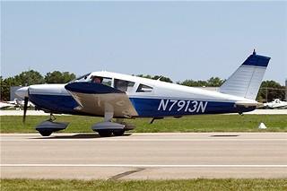 N7913N   Piper PA-28-180 Cherokee D [28-5325] Oshkosh-Wittman Regional~N 30/07/2008