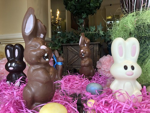 St Helena chocolates window for Easter | by Ted Drake