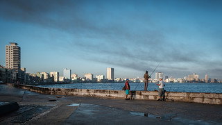 Fishing on the Malecon - Havana | by The-E