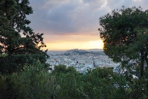 Lycabettus-kukkula, Ateena   by terhikokko