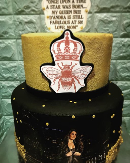 Cake by Diego Cunniff of Sugar Town Bakery