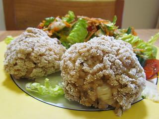 Fennel Breakfast Risotto Arancini