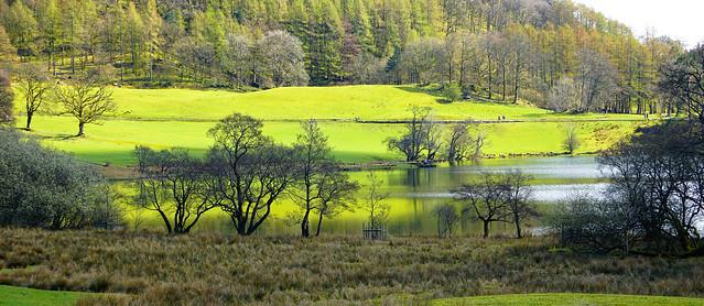 Panoramic Loughrigg Tarn