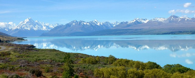 Lake Pukaki reflection