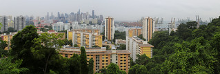 View from Mount Faber on Singapore | by B℮n