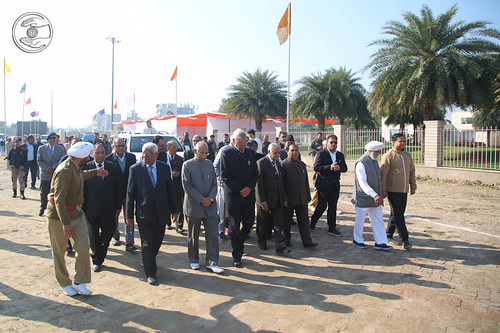 Members of EC and other important Missionaries led the procession