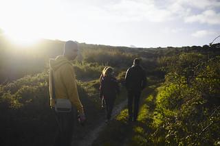 Walking to the sunset  #t3mujinpack | by t3mujin