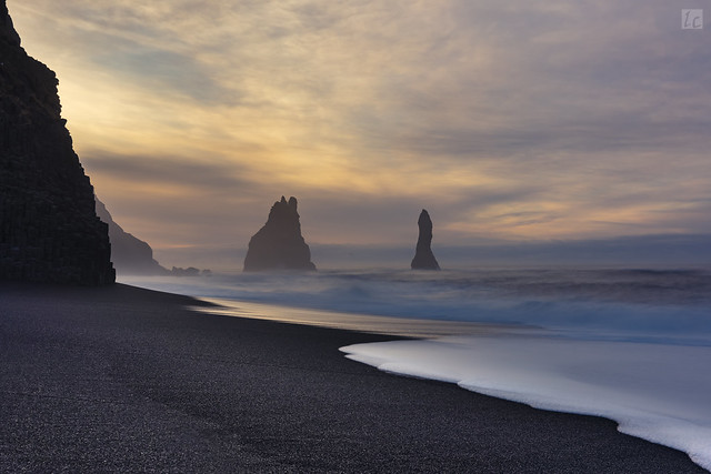Reynisfjara (Blacksand) Beach Sunrise 1