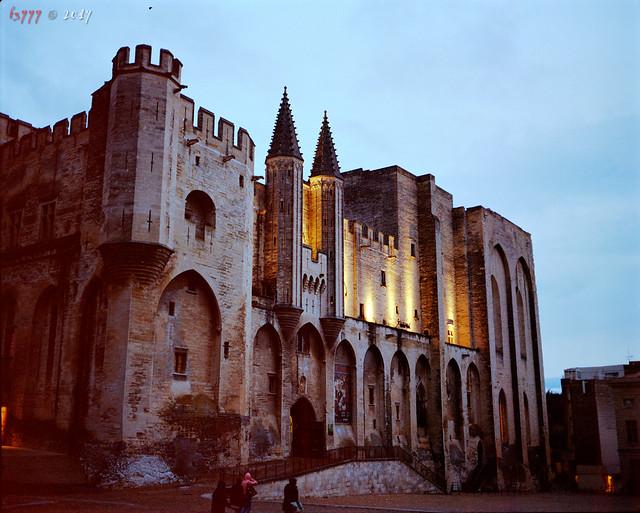 Evening Palace