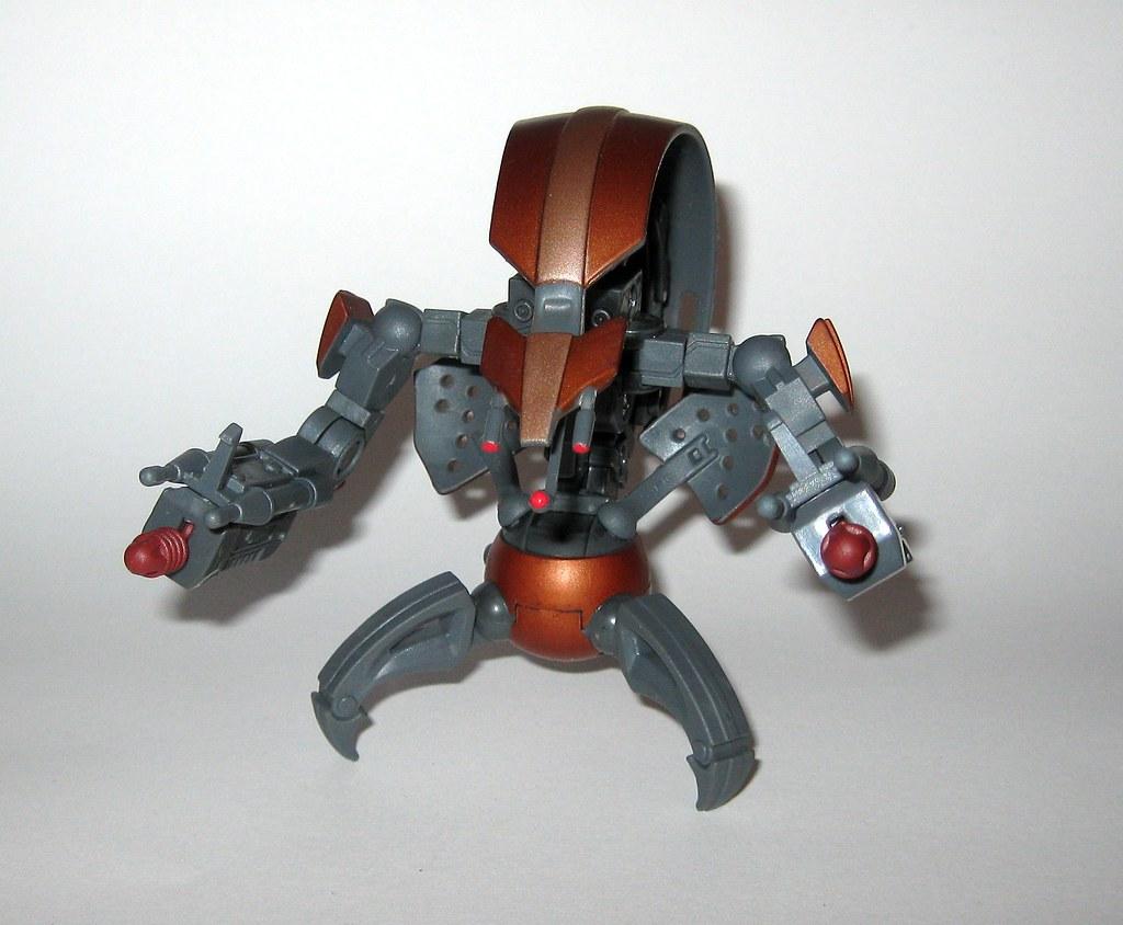 destroyer droid star wars the clone wars no 17 blue white