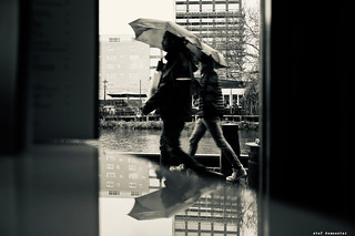 Bus stops, bus goes, she stays, love grows, under my umbrella (The Hollies) [69/365] | by stef demeester (sometimes off)