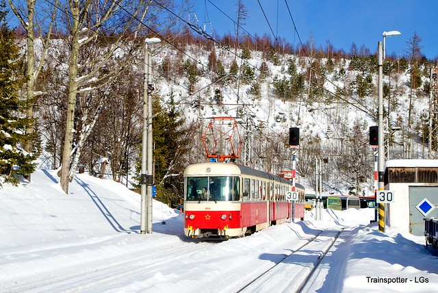 VKZ 420.959 (EMU 89.0009) ''Trojca'' spotted in Starý Smokovec