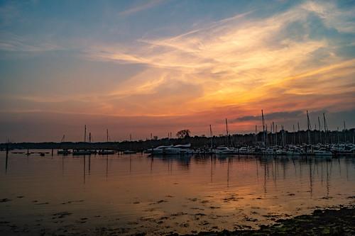 swanwick shore river hamble riverhamble sun sunset sky cloud sony alpha a58 hampshire