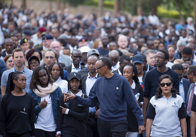 Walk to Remember   Kwibuka25   Kigali, 7 April 2019