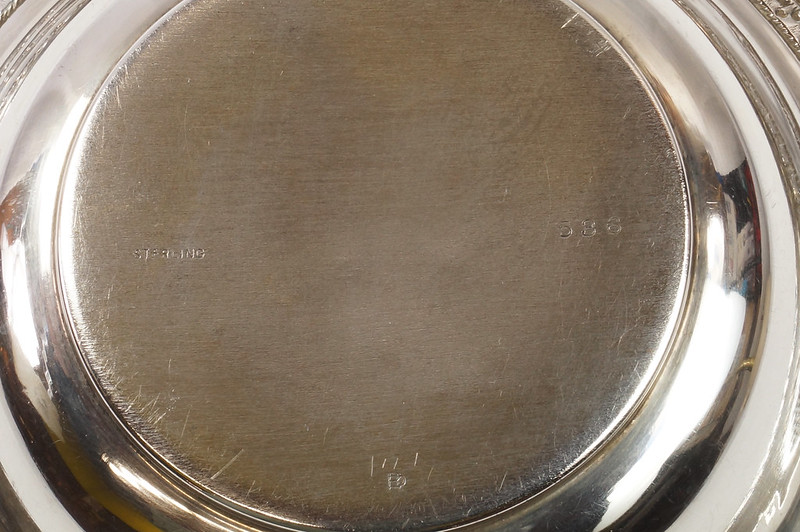 RD27847 Vintage Sterling Silver Bowl Dish 536 RD Richard Dimes 74 Grams DSC00255