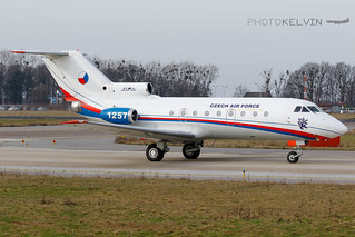 Yakovlev Yak-40 - Czech Air Force - 1257 | by Kelvin Jahae