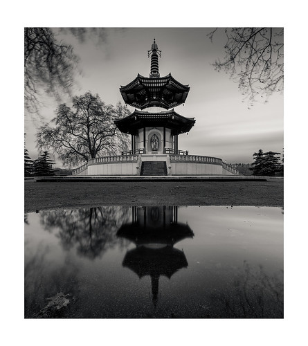 The London Peace Pagoda | by LorenzoBPhoto
