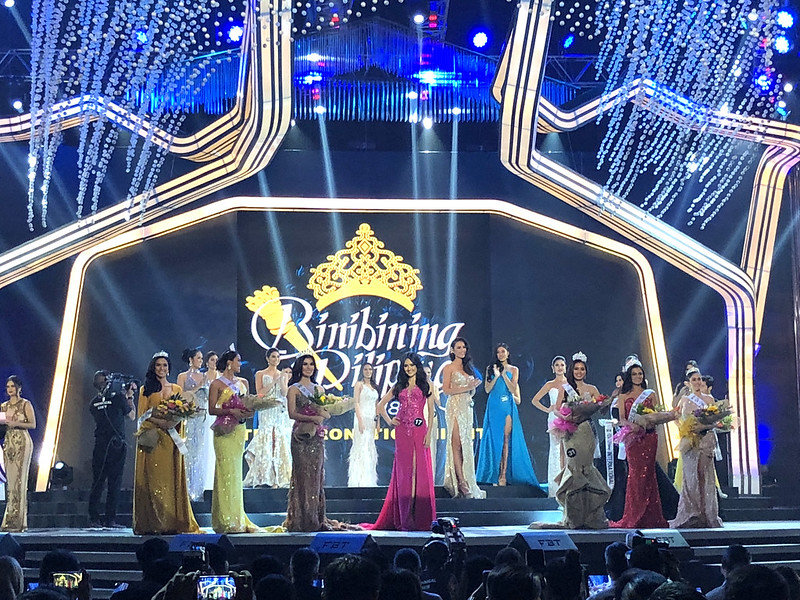 Ahtisa Manalo Being Crowned Binibining Pilipinas International