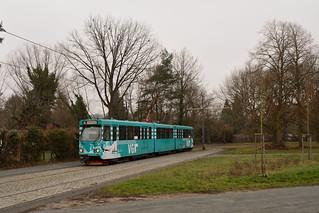 Vgf Pt Wagen 2050 Louisa Bahnhof Ein Paar Bilder Von Der T Flickr