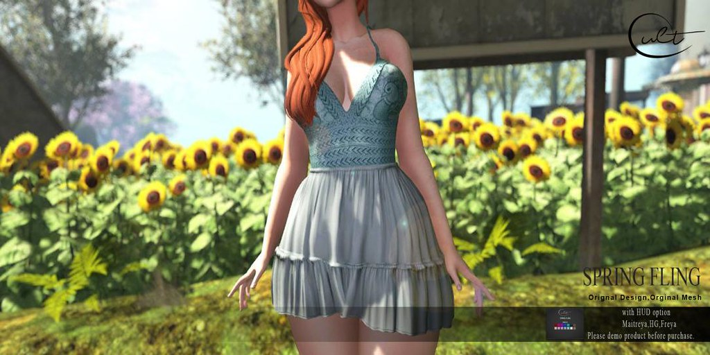 :CULT: SPRING FLING DRESS
