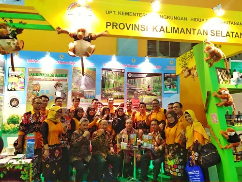 Meriahkan Indogreen Environment and Forestry Expo 2019 (01)