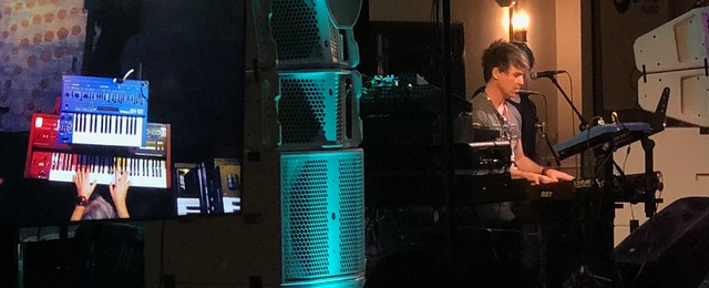 BT performing at Synthplex 2019
