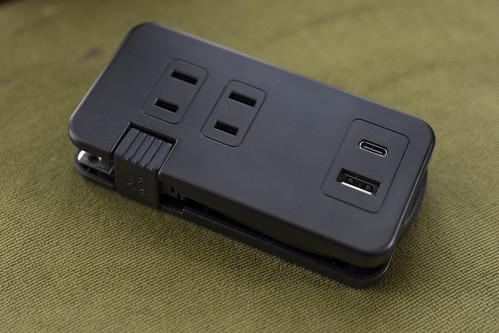 出張に最適なモバイルUSB-ACタップ(USB-C あり) ミヨシ IPA-24AC3