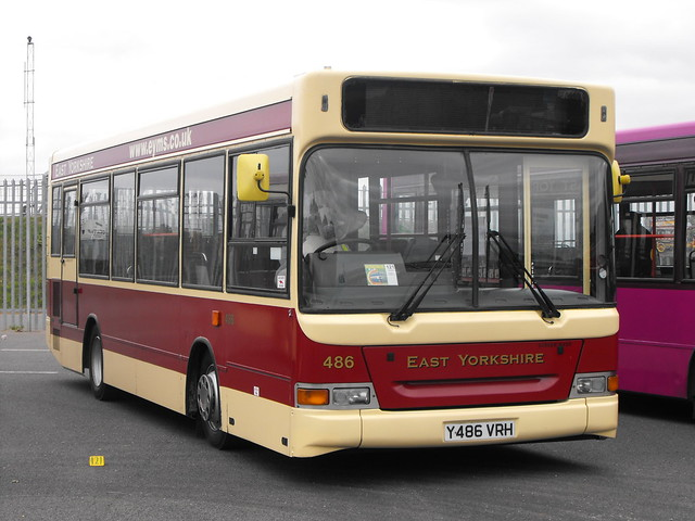 486, Y486 VRH, Dennis Dart, Plaxton Pointer Body, 2001 (t.2018)