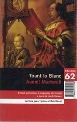 Joanot Martorell, Tirant lo Blanc